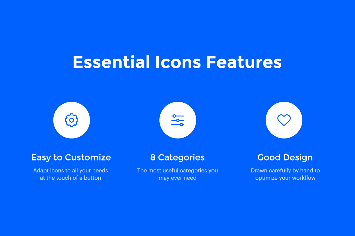 250 Essential Icons - Unique hand drawn icons сreated for you to simplify your daily work