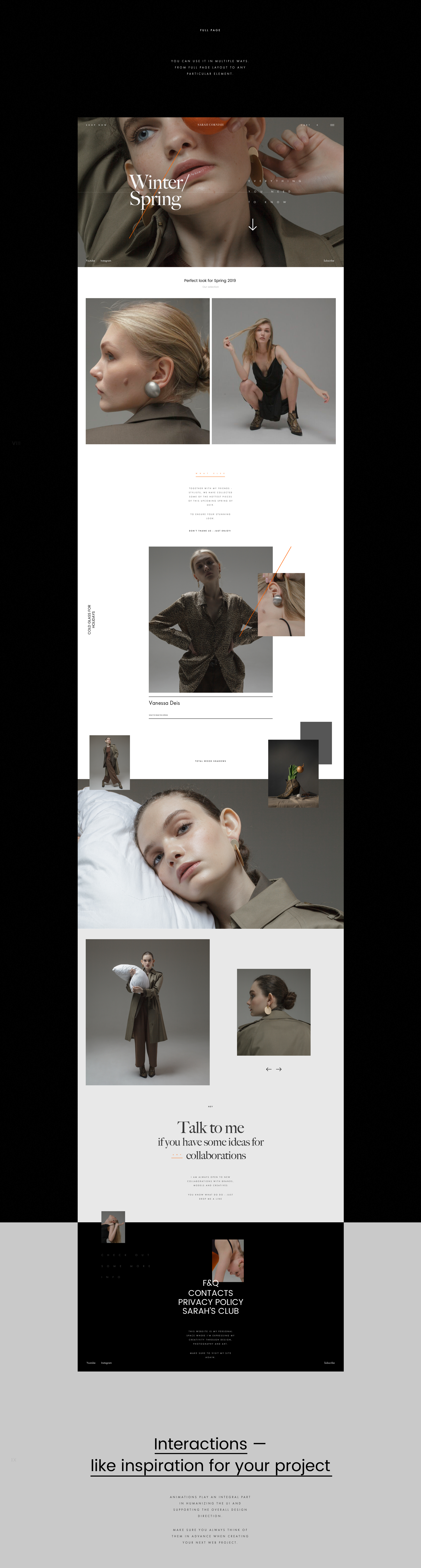 Fashion Influencer UI Kit - The UI Kit itself is #MadeInAdobeXD and is available for free. It features a ton of goodies for you to use in your next design projects! Don't miss out!