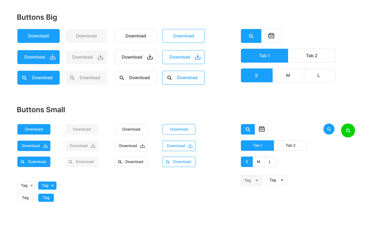 Figma Starter Kit - Get a jump start on your Figma projects. Limited to basic components, it's a great way to get started without any clutter.