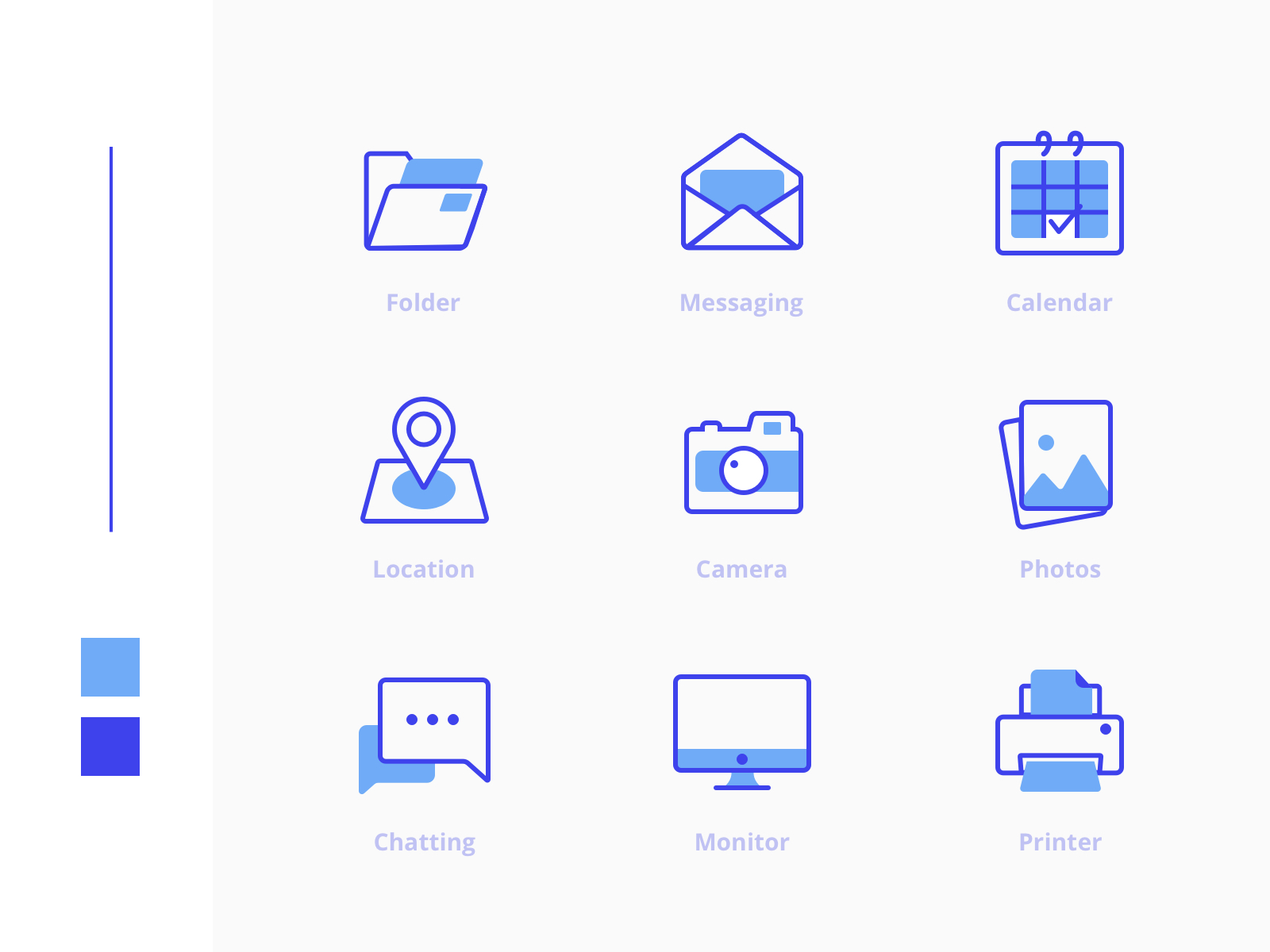 Freebies Office Icons Pack - Some lovely free icons by Gunaldi Yunus.