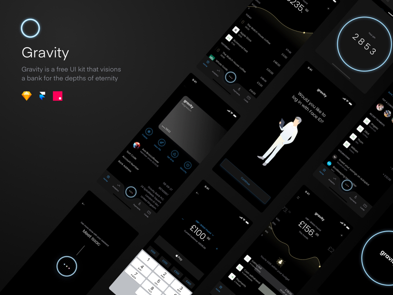 Download 22 free InVision Studio design for your next projects