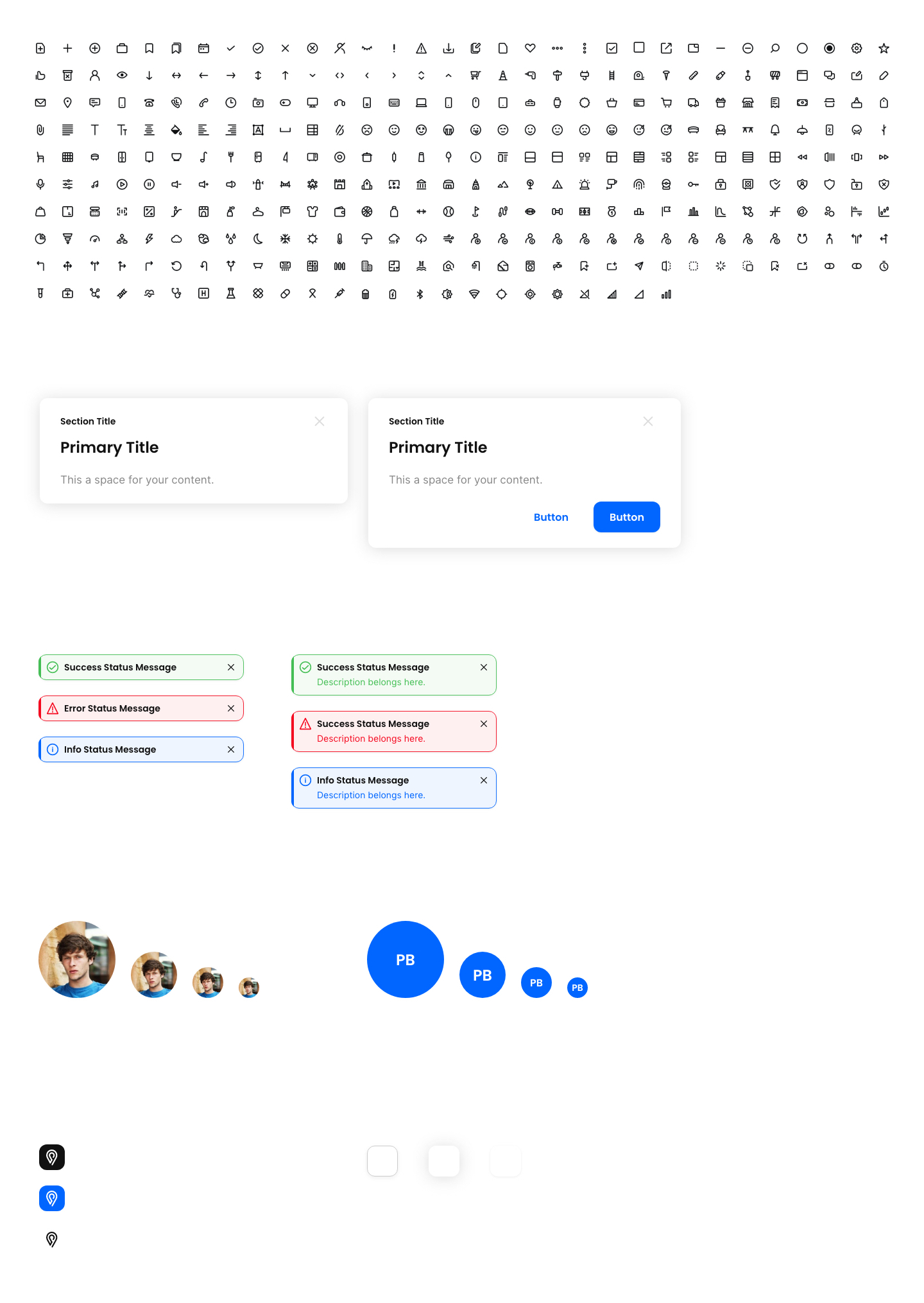 Adobe XD Starter Kit - Adobe XD - Starter Kit is UI kit based on the main Web components to help you start designing and web apps without breaking limits of your creativity.