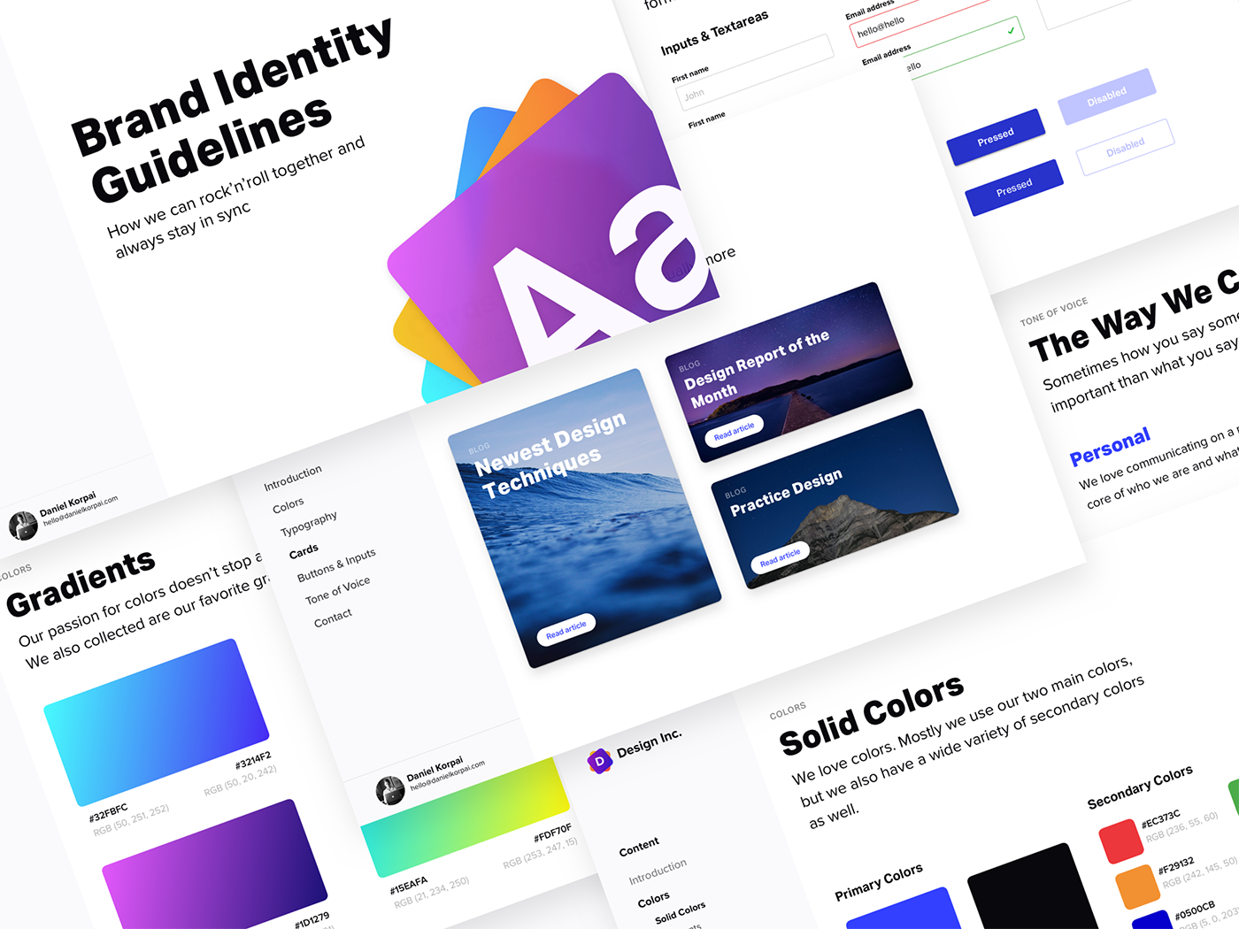 Brand Identity Guidelines 2.0 - Easy-to-use and editable brand identity template