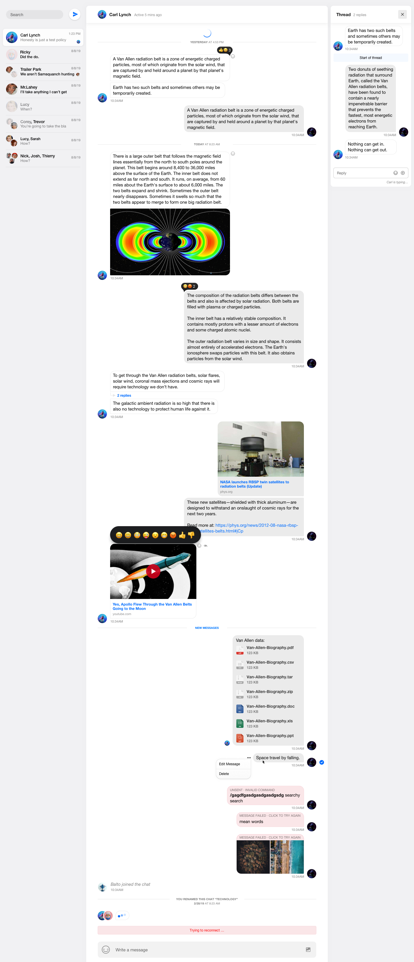 Chat Messaging UI Kit for Sketch - Craft a beautiful chat app UI design with our high fidelity Chat UI kit for Sketch. Chat interfaces for live chat, team collaboration, messaging, customer support and gaming are included. Design your responsive chat interface with all the essential elements required for fully interactive chat experiences.
