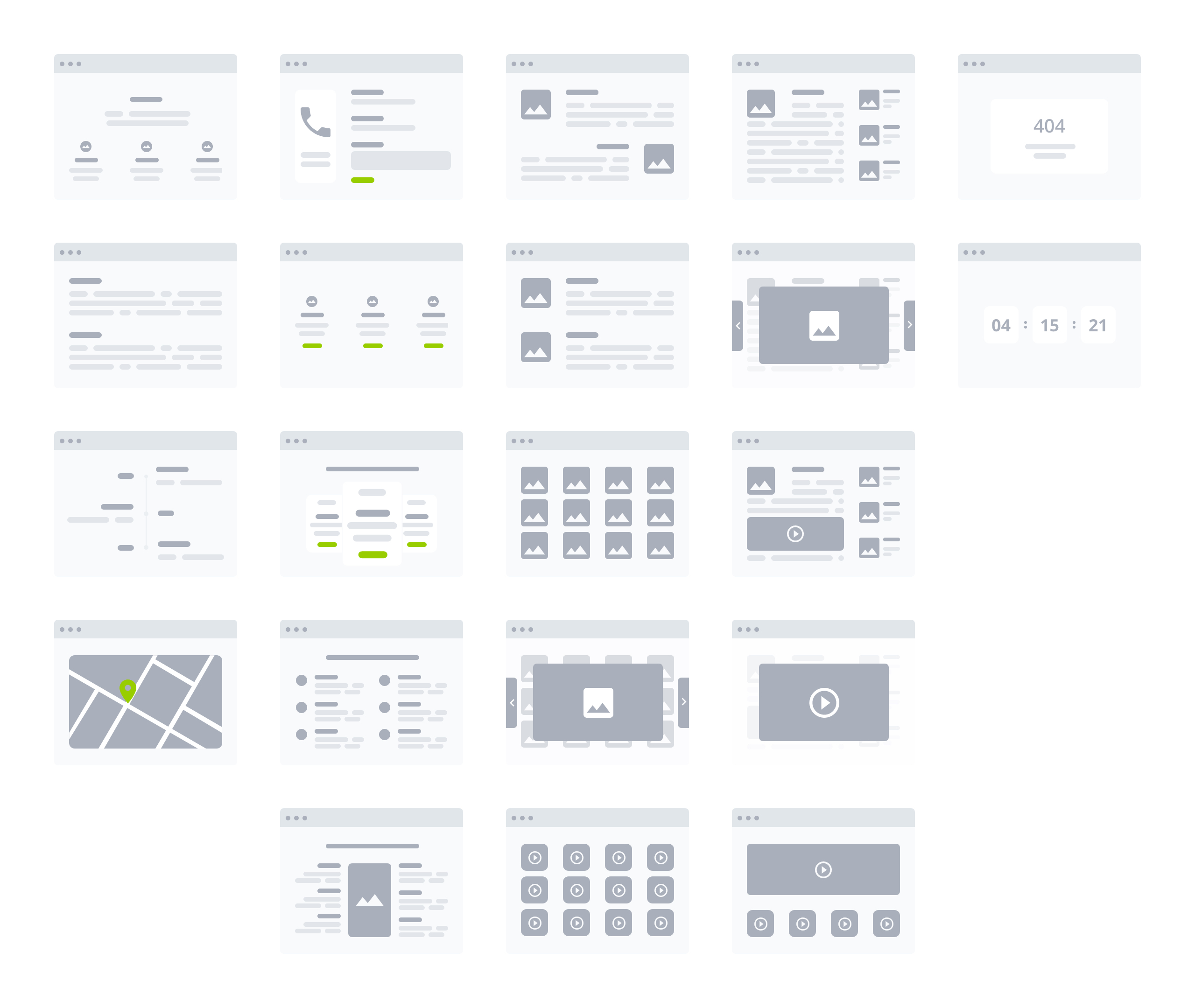 Desktop Flowchart Kit for Adobe Xd - Elegant and clean wireframe for your project