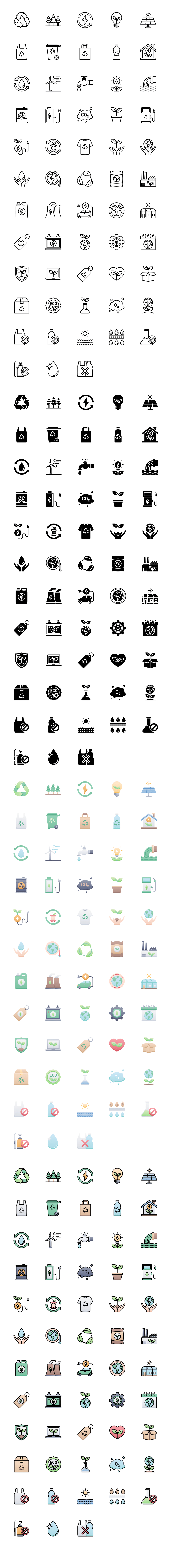 58 Ecology & Nature Free Icons - Free icons for nature, ecology, climate change, biology, sustainable living, and everything planet Earth.
