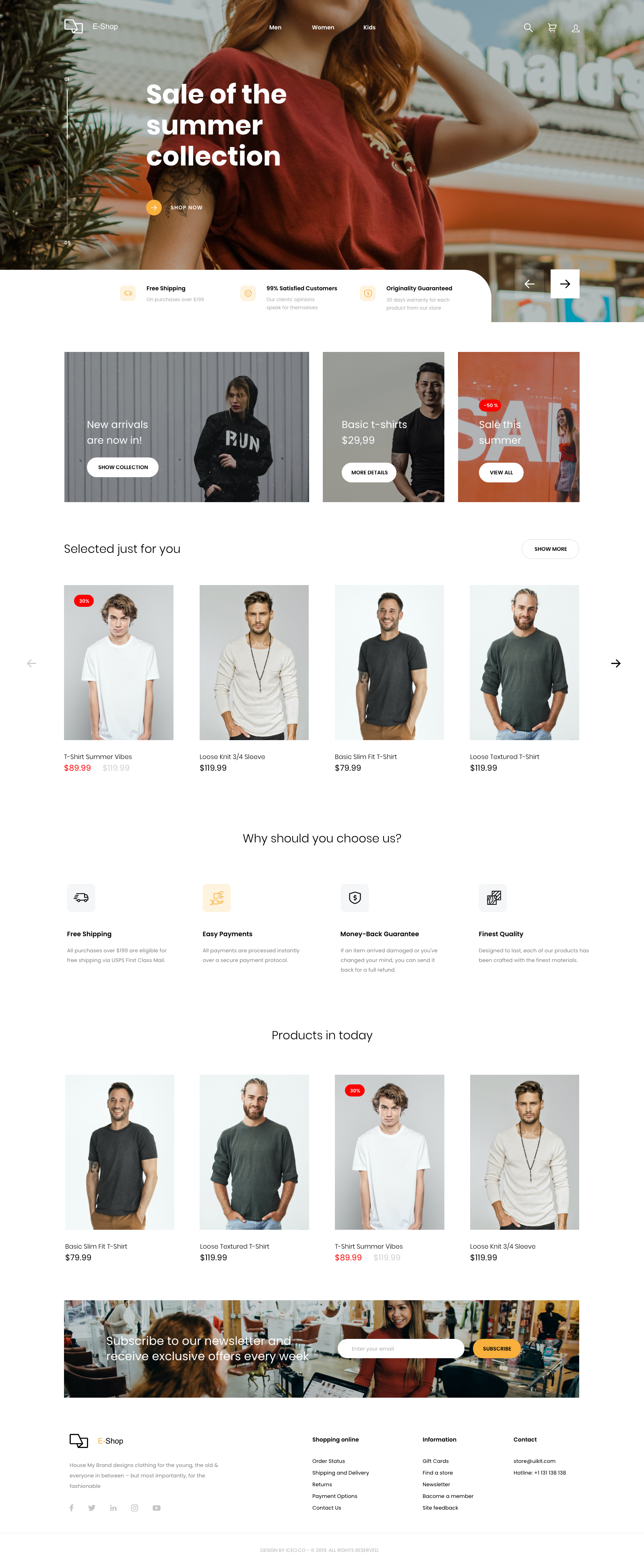 Responsive eCommerce UI Kit for Adobe XD - Designed for both web and mobile, this UI kit redefines user experience through simplicity and calculated design choices. This freebie contains everything an online store needs to get up and running.