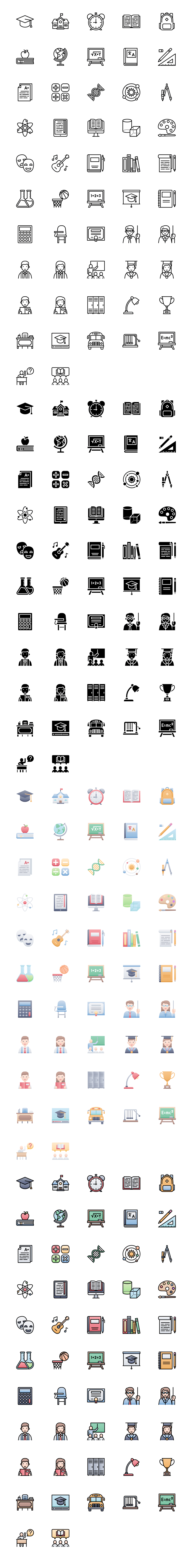 53 Education Free Icons - Free icons for education, schools, university, teachers, students, studying, books, and everything related to learning.