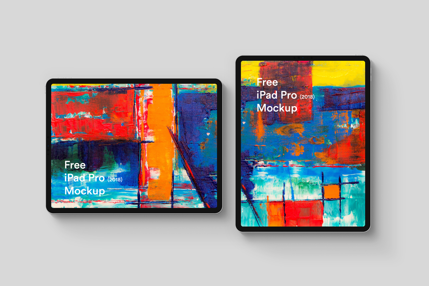 Free iPad Pro 2018 Mockup - For Sketch and Photoshop