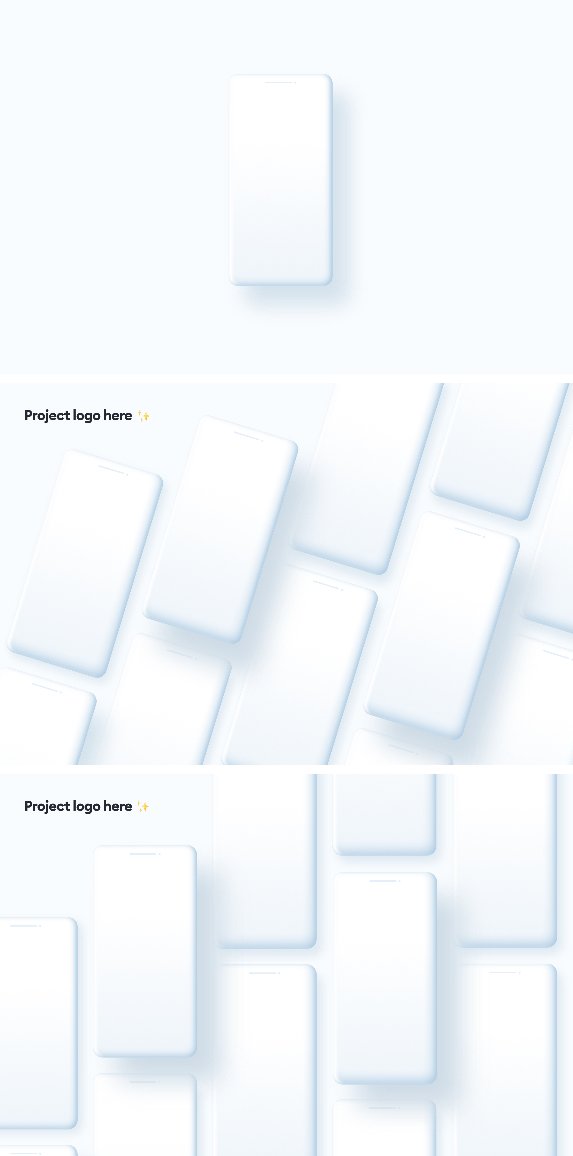 Free iPhone 12 Clay Mockups for Sketch and Figma - Simple, minimal, super-clean set of iPhone 12 clay mockups from Hype4Academy. We've been asked a lot about our custom, clay mockups, so here they are so you can use them as well in your project presentations