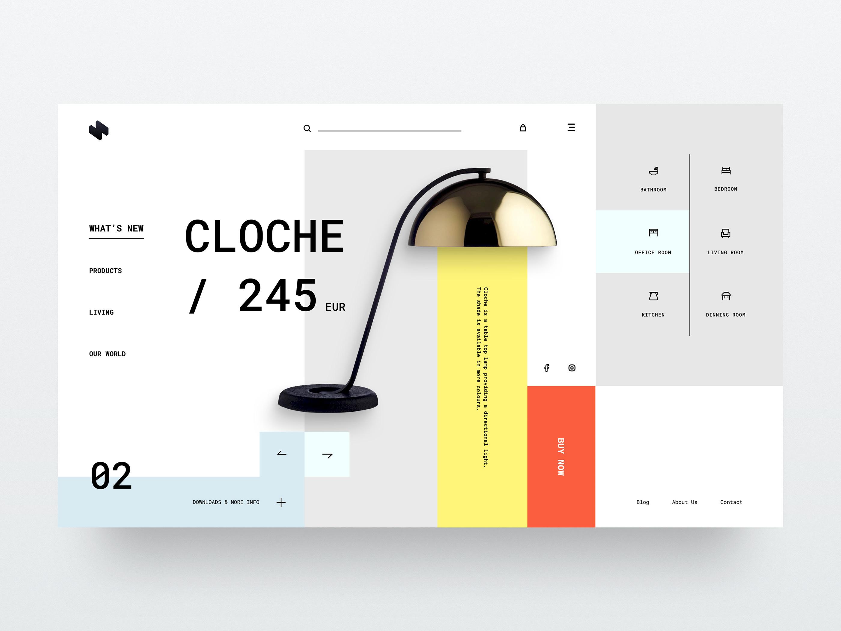 HeaderZ - Free UI Kit - 20 Free Headers to kickstart your next web design project.