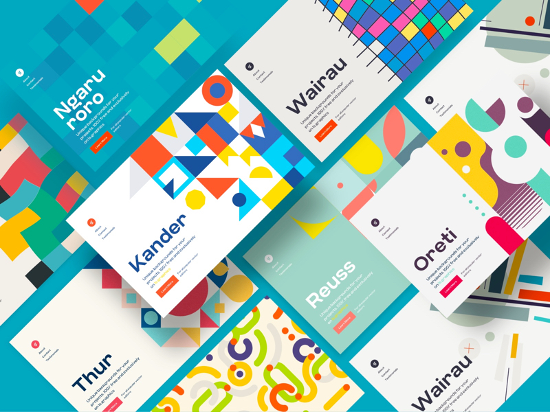 Download 38 free Adobe XD design for your next projects - uistore design