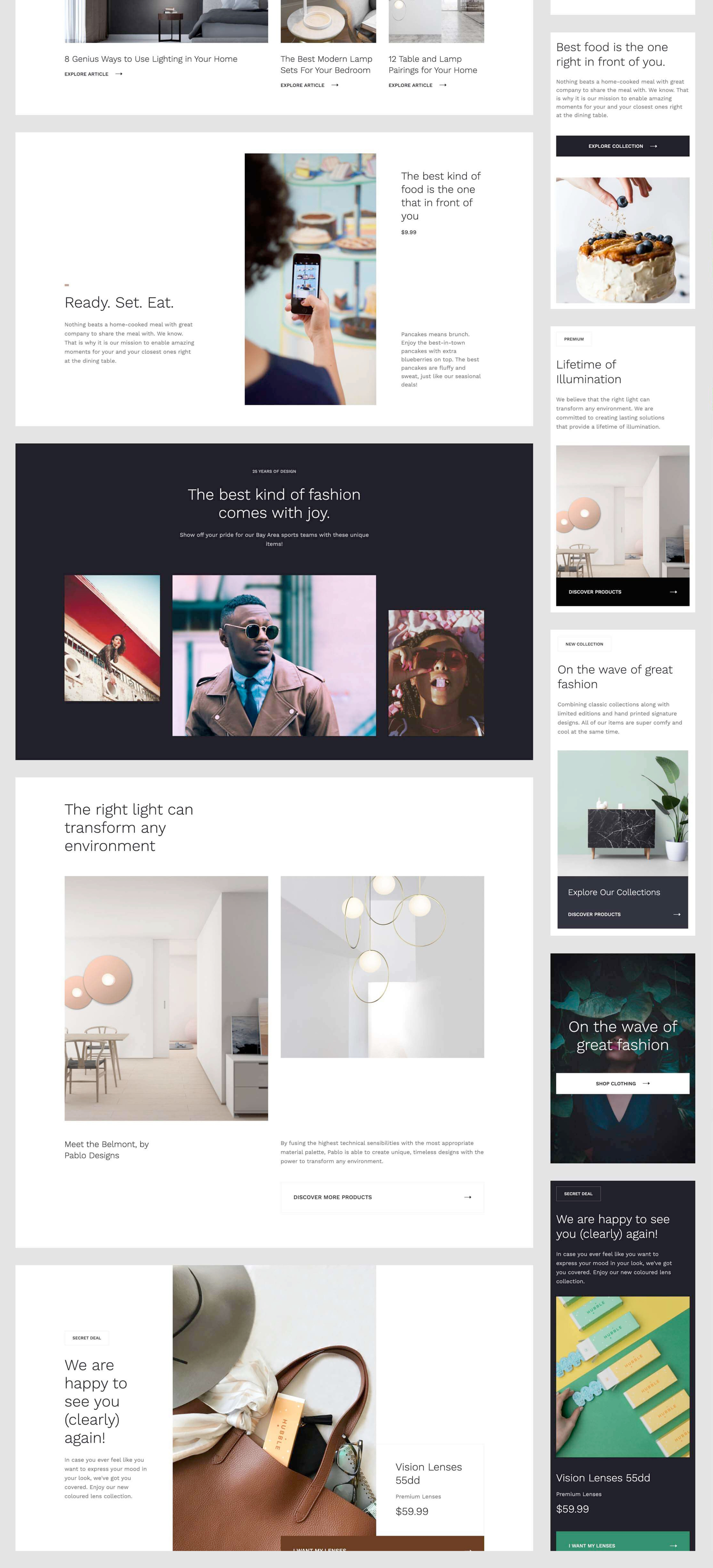 Prospero - Ecommerce UI Kit for Webflow - A clean, modular — and free — UI kit for ecommerce and beyond. Get all the pieces you need to create a polished online store in Webflow, including 2 unique, ready-to-launch templates. The kit includes 85 sections and 10 layouts showcasing large photos, sleek typography, and plenty of white space to keep the attention on your products and brand.