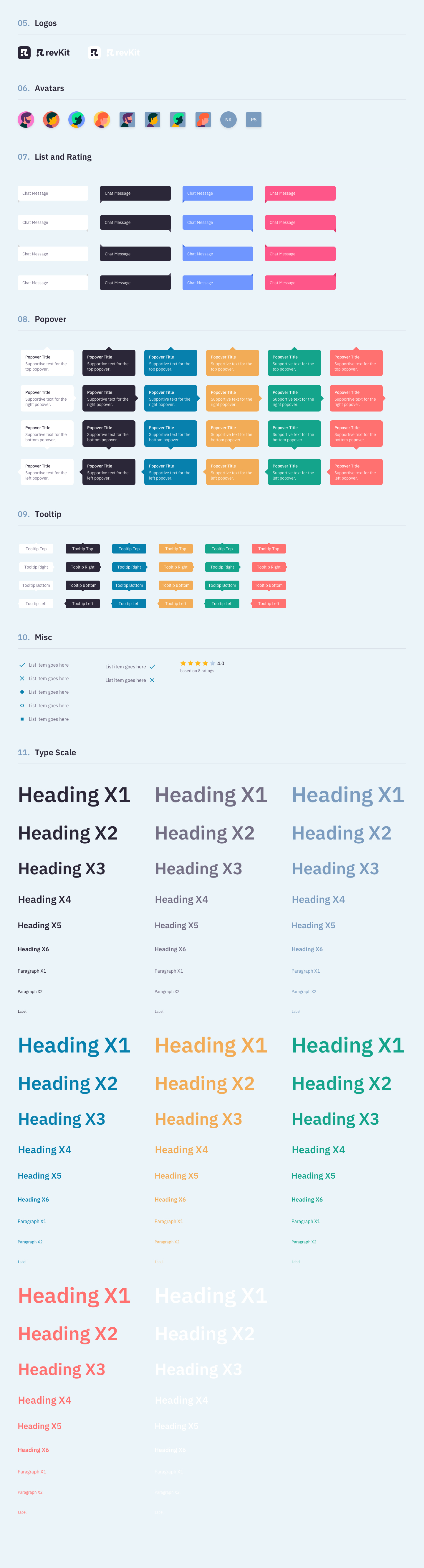 Revkit Design System UI Kit - RevKit is a design system UI Kit for busy designers like you. You can now quickly create flexible web design prototypes. RevKit is available for Sketch App, Figma, and XD. It is ready to seamlessly fit into your existing design workflow. Happy Prototyping!!