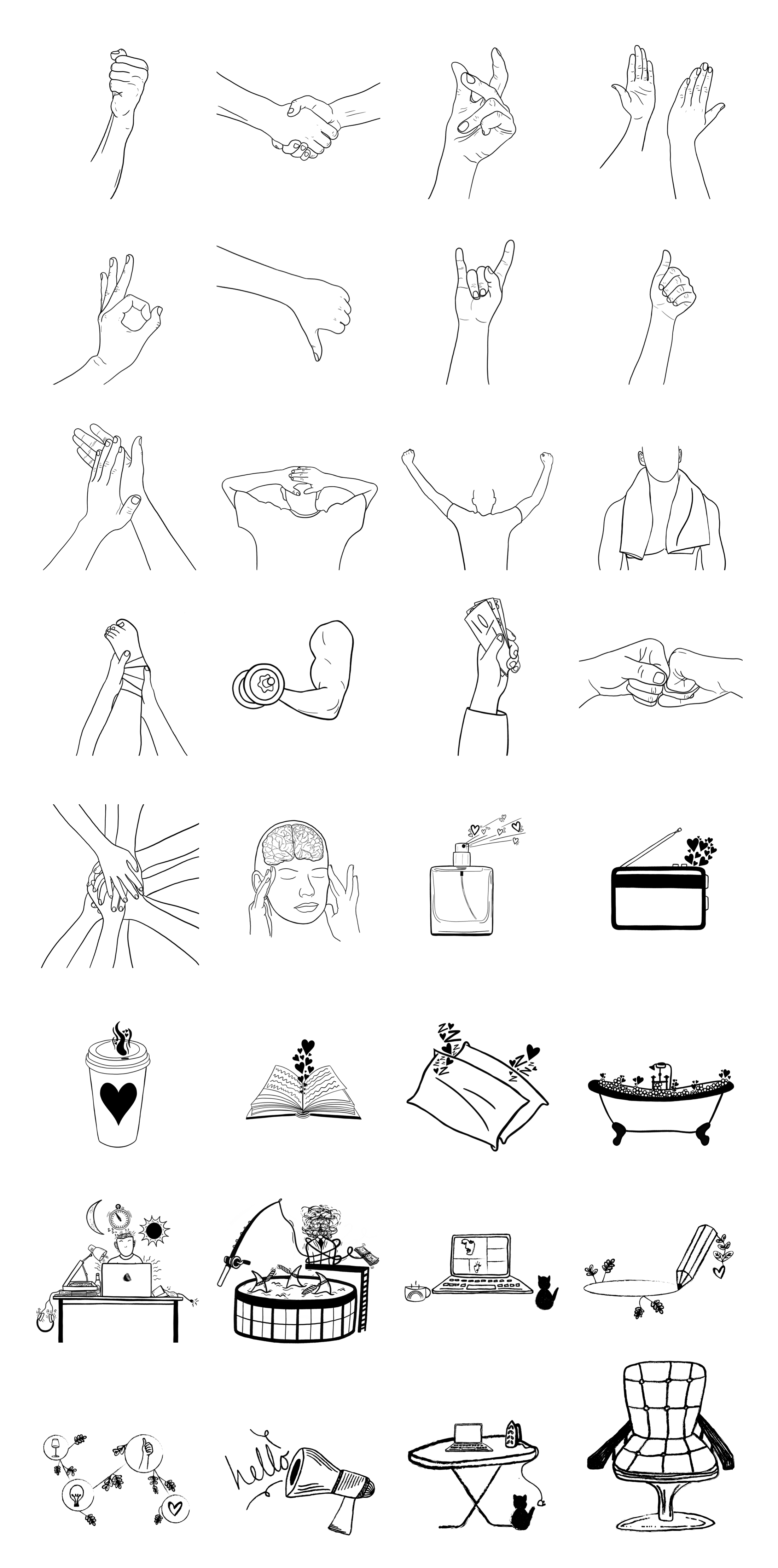 Skribbl Free Illustrations - Illustrations for everyone. A growing collection of free, hand-drawn illustrations brought to you by a global community of aspiring creatives.