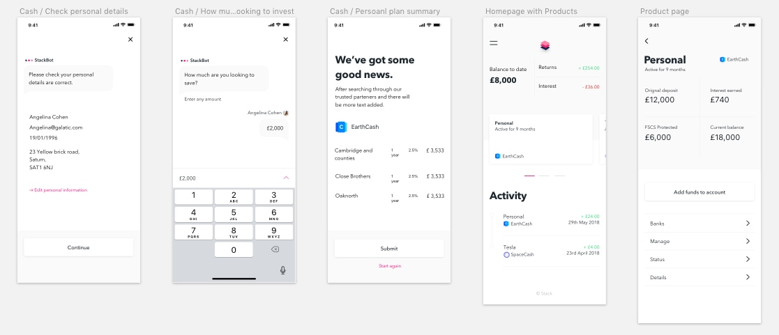 Stack UI Kit - Stack UI Kit is a perfect kickstart to your mobile finance project iOS design and Android. The design concept is based on a financial investor app, that uses machine learning to calculate the best stocks for the user to invest their money.