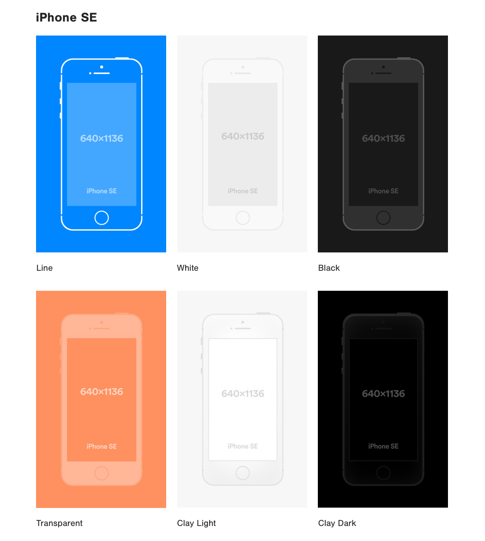 Vector Mockups Library - Huge collection of presentations mockups. This library consits of popular devices.